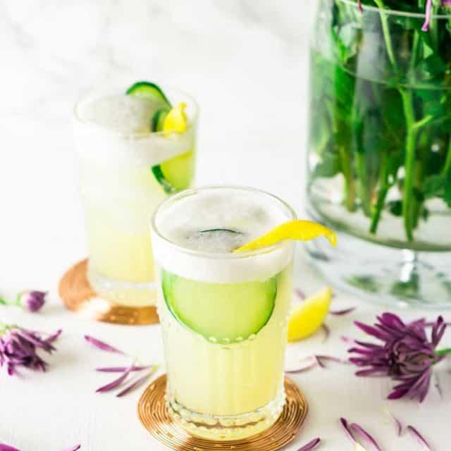 Lavender Gin Fizz